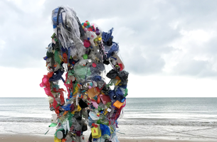 Rankin Creates Plastic Monster to Rampage Social Media for Ocean Pollution Campaign | LBBOnline