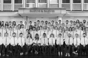 Saatchi London Bids Farewell to 80 Charlotte Street with the 'School of Saatchi'