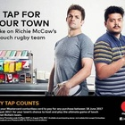 Mastercard NZ Asks Kiwis to 'Tap for Your Town to Play Richie'
