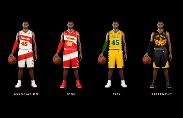 Digitas Design Team Reimagines Uniform Branding for Every Team in NBA