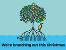 Trees: A Little Step to Making Christmas More Green... and Peach