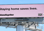 Out of Home Advertising Lends Platforms to Amplify Ad Council's Covid-19 Messaging
