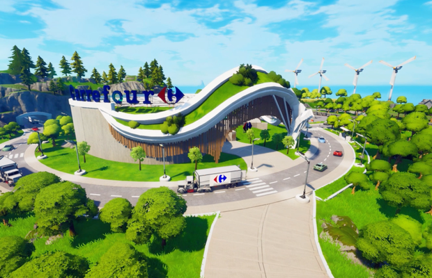 Carrefour Isn't Playing Games on Healthy Eating with Launch of Fortnite's 'The Healthy Map'