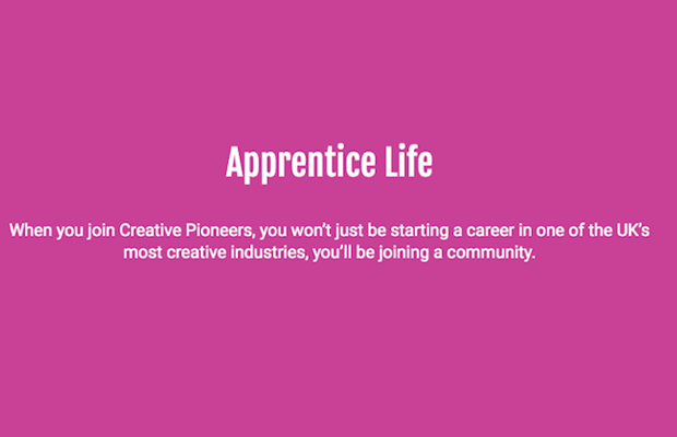 Industry Launches First Creative Apprenticeship Programme to Diversify Department