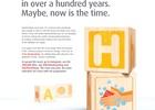 H for Handwashing - Print ad