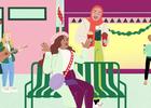 Start the Festive Season With Starbucks Joyful Red Cups Animation