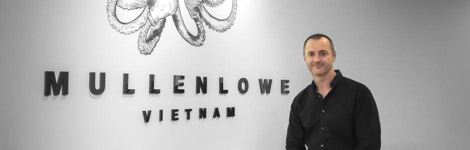 'Every Day's an Adventure': MullenLowe Vietnam's New ECD Adrian McNamara