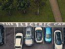 Electric Car Campaign Uses Optical Illusions to Drop the Word 'Electric'