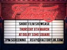 Factory's Short Film Showcase 2018