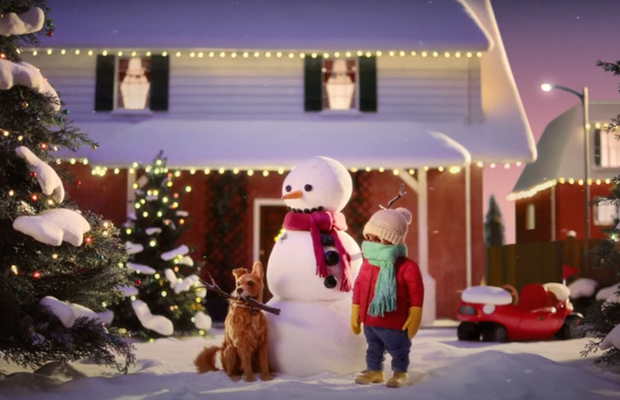 GREENIES Pits Dog Against Snowman for Hilarious Stop Motion Christmas Spot