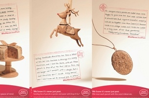 The Post Office's Christmas Ads Are a Cardboard Stop-Motion Delight