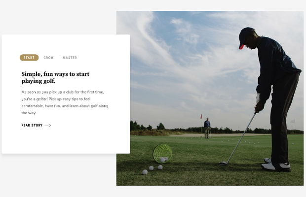 PGA of America Debuts New Website to Bring Golfers Closer to Their Game