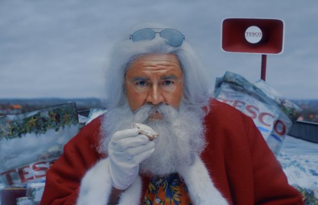 Forget the Naughty List! Tesco Hilariously Tucks into the Festive Season