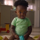 Baby Fights to Hold Back the Inevitable Tide in South African Nappy Ad