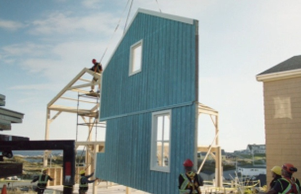 JWT London Builds a House in a Day for New HSBC Campaign
