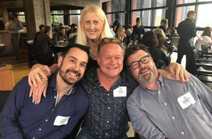 Melbourne's Top CDs and Producers Enjoy The Campaign Brief Melbourne Legendary Lunch