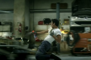 Cillit Bang's Sweaty Flashdance Makes Cleaning Exciting... Almost