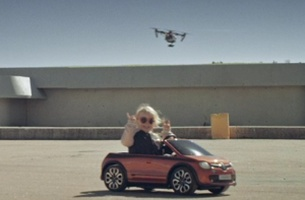 Lila Kalis Burns Rubber in New Renault Spot from Great Guns' Olivier Staub