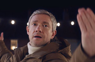 Martin Freeman Is Dancing on Ice in Vodafone's New Christmas Campaign