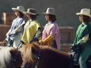Maya Rudolph's Quarter Sized Cowboys Make a Big Purchase in Klarna's Super Bowl Spot