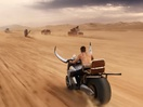 Biborg Takes Us for a Ride in the Desert for Paco Rabanne Fragrances