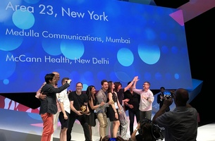 "FCB's Area 23 Named ""Healthcare Agency of the Year"" at 2017 Cannes Lions Health Festival"