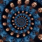 Maxim Kelly Dazzles Django Django for Music Video Spirals