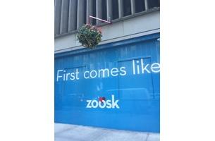 Zoosk Celebrates NYC Holiday Magic with Interactive Mistletoe Billboard
