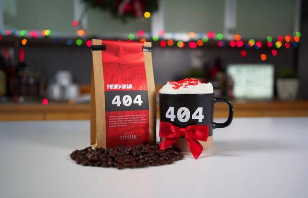 Agency Bids Happy Holidays with Custom Roasted Coffee