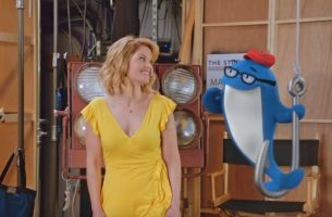 Charlie the Tuna Goes Backstage with Candace Cameron Bure for New StarKist Ad