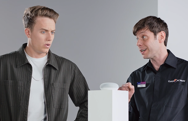 Roman Kemp and Victoria Pendleton Star in Currys PC World Christmas Ads