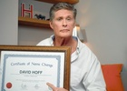 The Hoff Ditches Hassel in Cheeky Ads for amaysim