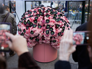 Striking Brain Sculpture Made from Flowers Illustrates How Opioid Addiction Works