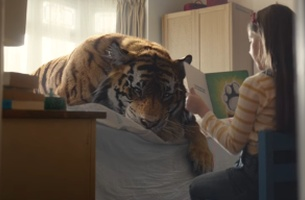 Become A Tiger Protector In JWT's New Campaign For WWF UK