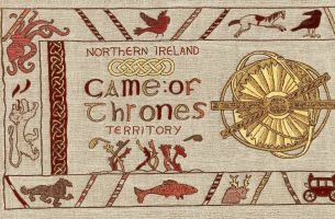 Giant, Medieval-Style Tapestry Celebrates Northern Ireland's Connection to Game of Thrones