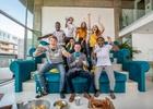 EE Unveils World's First Three Tier Sofa Inspired by Wembley Stadium