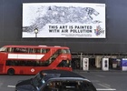 Marcel Sydney and Tiger Beer's Air-Ink Turns London Pollution into Street Art