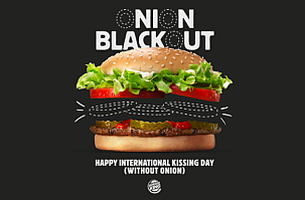 Burger King's New Campaign Bets on Onion-Free Kisses