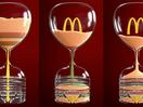 McDonald's 12 Hour Sand Clock Counts Down to Ramadan Iftar Meal
