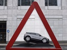 New Range Rover Evoque Recreates Iconic Road Signs in London