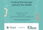 Feed Manchester Sponsors Free Coding Workshops for National Coding Week 2018
