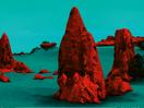 Your Shot: Transforming Earth Landscapes into Retro Sci-Fi Scenes for Pantone