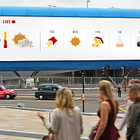 McDonald's Weather-Reactive Outdoor Campaign Brings British Weather to Life Through Data