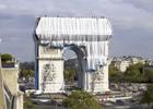 Christo - 'Empacking the Arc de Triomphe'