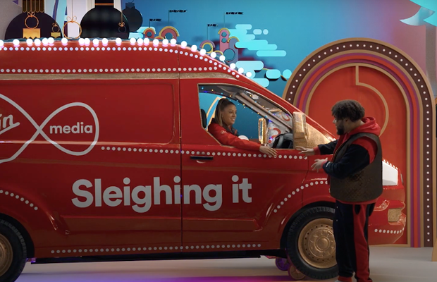 Virgin Media's Grime MC Presents a Show Stopping Panto of Gifting Galore