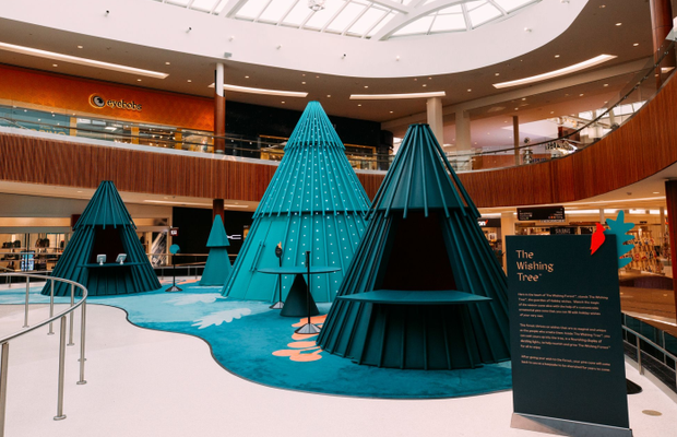 Brookfield Properties Transforms Malls into Magical Forests