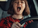Maisie Williams Belts Out 'Let It Go' in Audi Super Bowl Ad