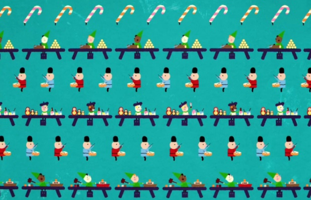 Trunk Wraps Festive Joy Into Animated Coca-Cola Christmas Spot