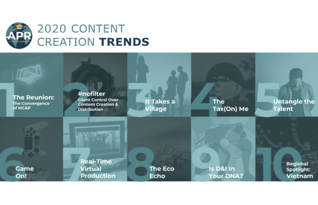 APR Reveals Top Ten Content Creation Trends of 2020