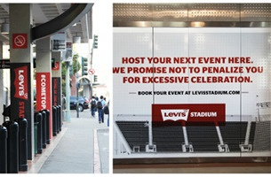 San Francisco 49ers Launch Promotion of Swanky New Levi's Stadium
